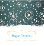 cardez la salutation de Noël Image stock