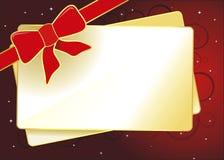 cardez Noël Images stock