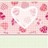Cardez pour le jour de Valentine ! illustration de vecteur