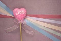 Cardez pour le jour de valentines Photo libre de droits