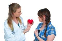 Cardiólogo de sexo femenino Fotografía de archivo