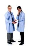 Cardiólogo de sexo masculino Fotografía de archivo libre de regalías