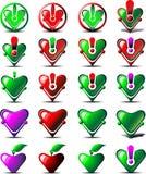 Cardiac Diagnostics icon Royalty Free Stock Image