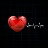 Cardiac Frequency Royalty Free Stock Photos