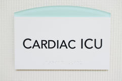 Cardiac ICU Royalty Free Stock Images