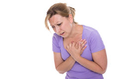 Cardiac infarction Royalty Free Stock Image