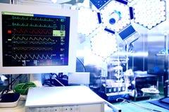 Cardiac monitor Stock Photo