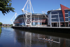 Cardif Millenium Stadium Stock Images