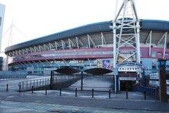 Cardiff arma el parque, País de Gales Imagenes de archivo