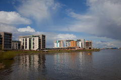 Cardiff Bay Stock Photo
