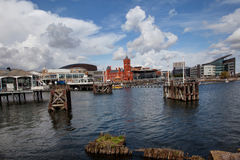 Cardiff Bay Royalty Free Stock Photo
