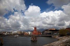 Cardiff Bay Stock Image