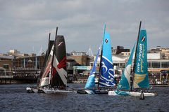 Cardiff Bay Extreme Sailing Race 2012 Stock Images