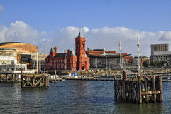 Cardiff Bay Stock Photo
