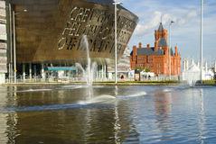 Cardiff bay royalty free stock photography