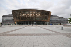 Cardiff Bay modern gallery Stock Images
