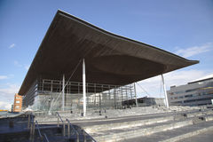 Welsh Senedd Stock Images