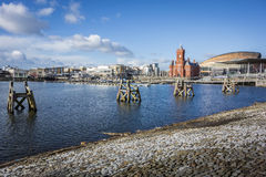 Cardiff Bay Skyline Stock Photography
