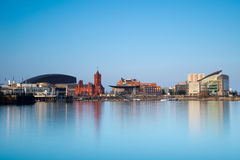 Cardiff bay skyline Royalty Free Stock Photography