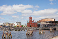 Cardiff Bay Wales Stock Image