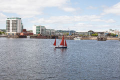 Cardiff Bay Wales Stock Images