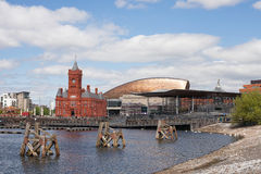 Cardiff Bay Wales Royalty Free Stock Image