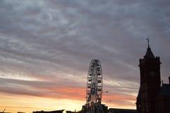Cardiff-Bucht Stockbilder