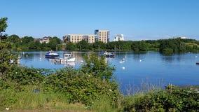Cardiff-Bucht Grangetown Stockfoto