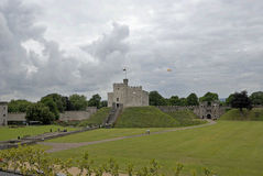 Cardiff Castle. Norman Keep Wales UK Royalty Free Stock Photos