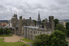 Cardiff Castle. Wales United Kingdom royalty free stock photography