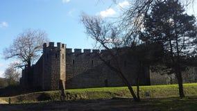 Cardiff Castle. In the sun stock photo