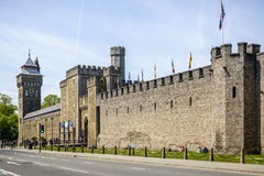 Cardiff Castle Royalty Free Stock Image