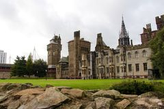 Cardiff Castle - Victorian Gothic Palace , Cardiff, Wales, UK Royalty Free Stock Photography