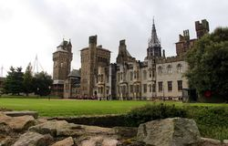 Cardiff Castle - Victorian Gothic Palace , Cardiff, Wales, UK Royalty Free Stock Image