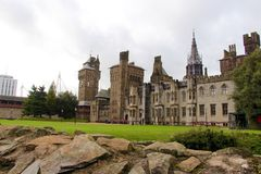 Cardiff Castle - Victorian Gothic Palace , Cardiff, Wales, UK Royalty Free Stock Photos