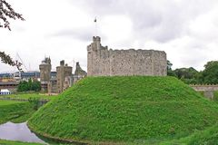 Cardiff Castle. Wales Royalty Free Stock Photos