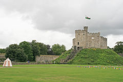 Cardiff castle, Wales Stock Photography