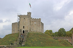 Cardiff Castle, Wales Royalty Free Stock Photo