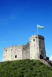 Cardiff Castle Stock Image