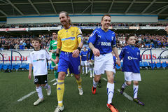 Cardiff City FC v Derby County FC Royalty Free Stock Images