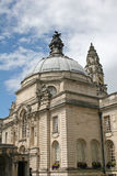 Cardiff city hall. Exterior of Cardiff city hall Royalty Free Stock Image