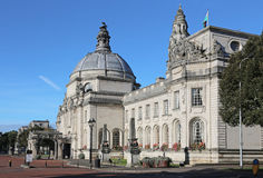 Cardiff city hall Stock Photos