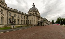 Cardiff City Hall A Stock Images