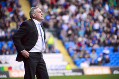 Cardiff City Manager - Dave Jones Royalty Free Stock Images