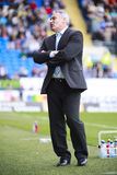 Cardiff City Manager -Dave Jones Royalty Free Stock Images