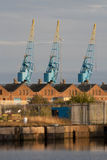 Cardiff Docks Stock Photography
