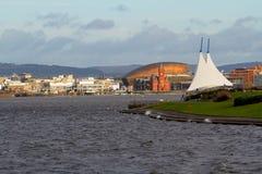 Cardiff fjärd Royaltyfria Bilder