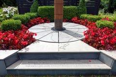 CARDIFF, GALLES - 10 LUGLIO: Capitano di commemorazione commemorativo Scotts Fotografie Stock