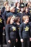 CARDIFF, GALLES - 23 MARZO: Il 23 marzo 2014 a Cardiff il Roc Immagini Stock Libere da Diritti