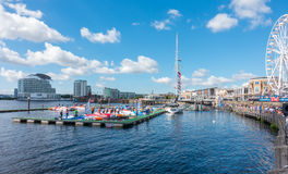 Cardiff Harbour Festival & P1 Welsh Grand Prix of the Sea Royalty Free Stock Photography